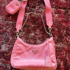 Sold! 2005 Prada Re-edition in pink